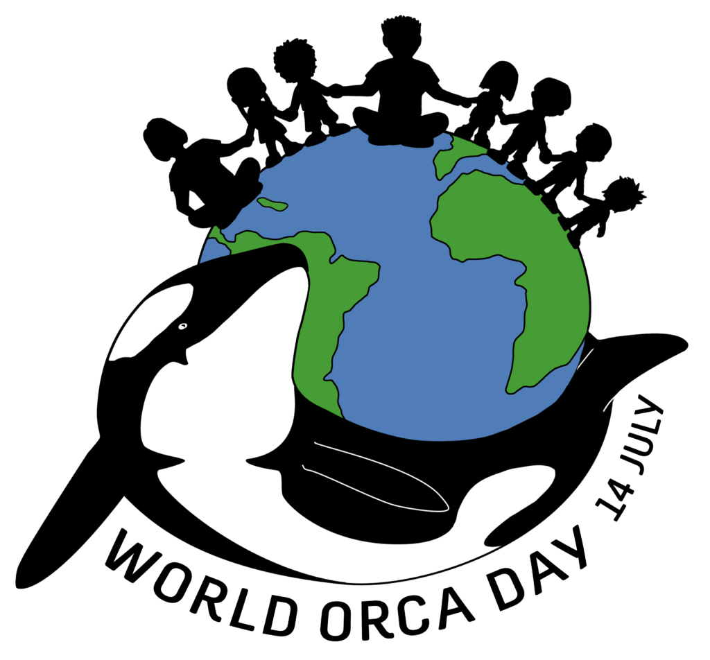 World Orca Day 14 July Logo