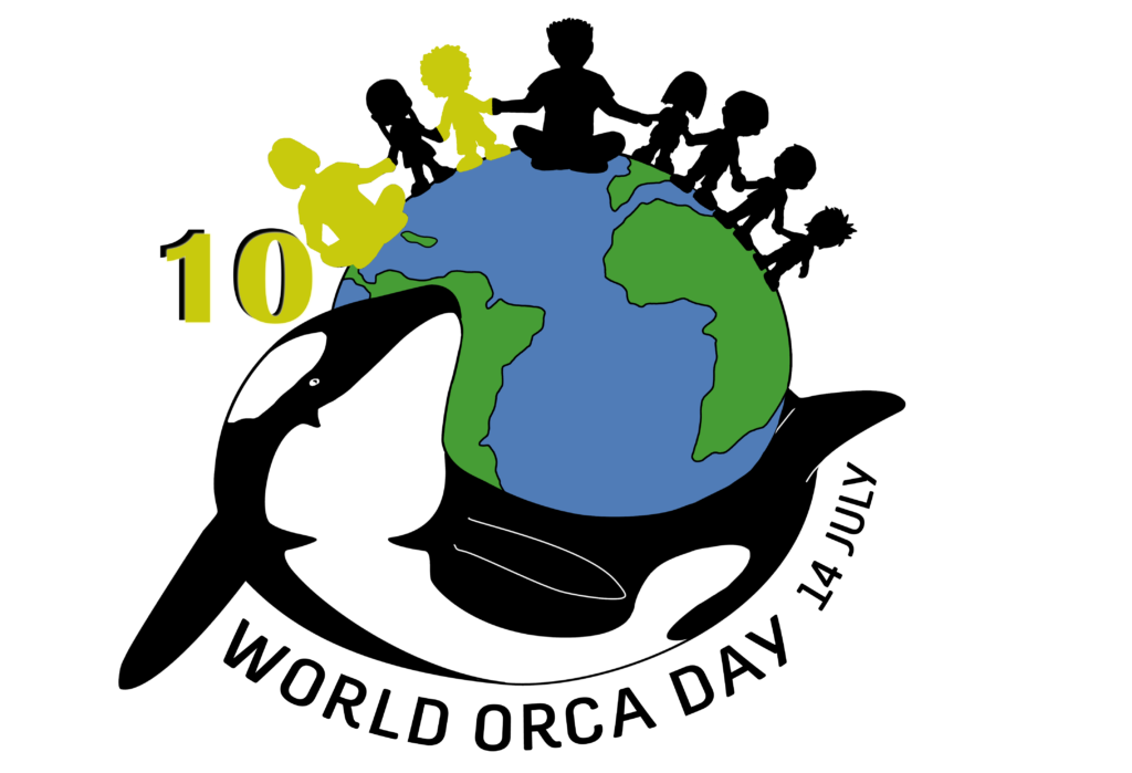 World Orca Day - Logo 10 sticker