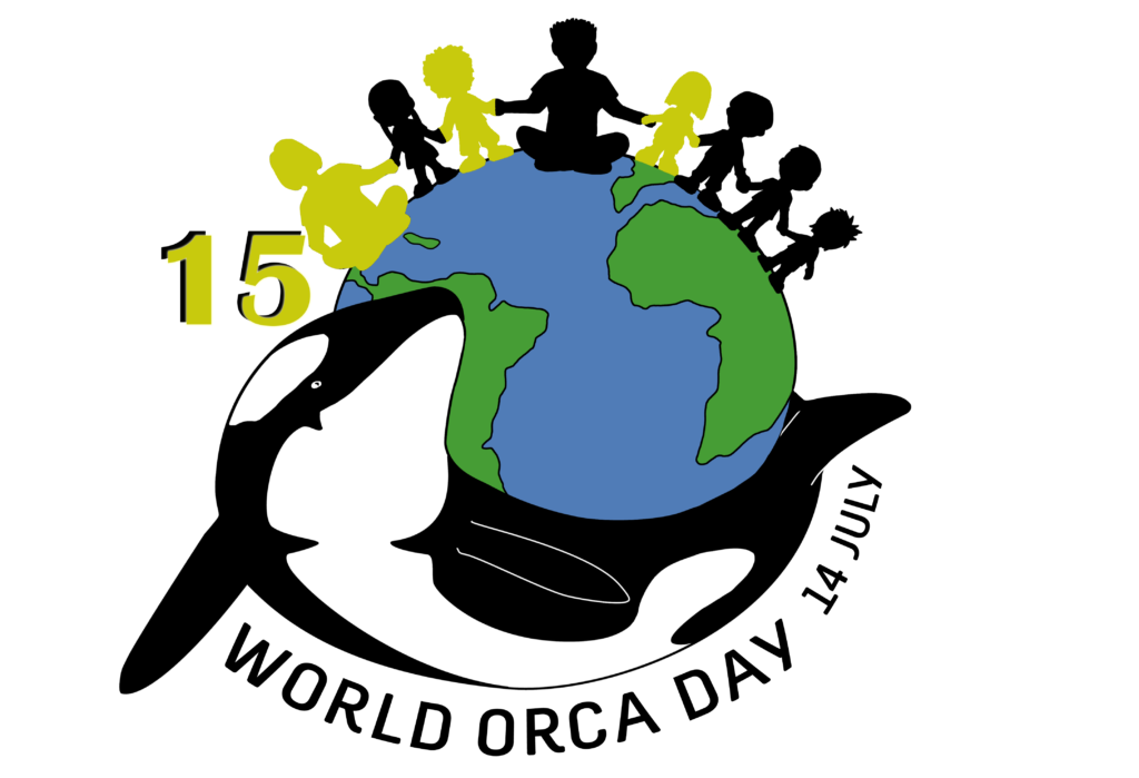 World Orca Day - Logo 15 sticker