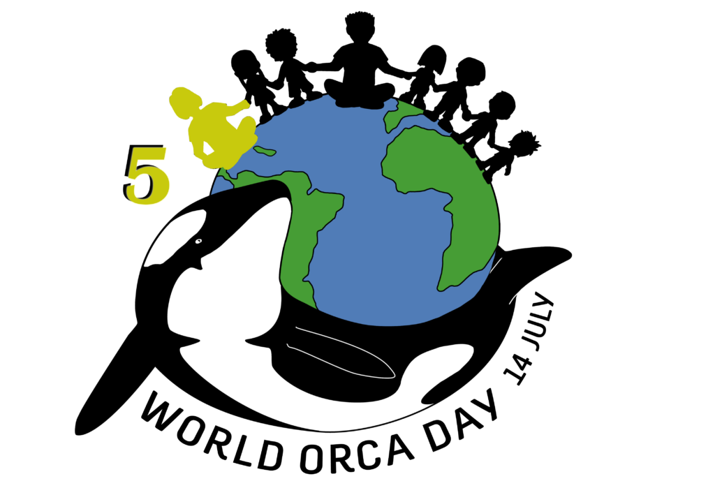 World Orca Day - Logo 5 sticker